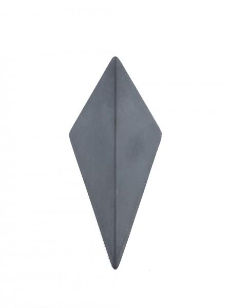 Kleiderhaken aus Beton in grau