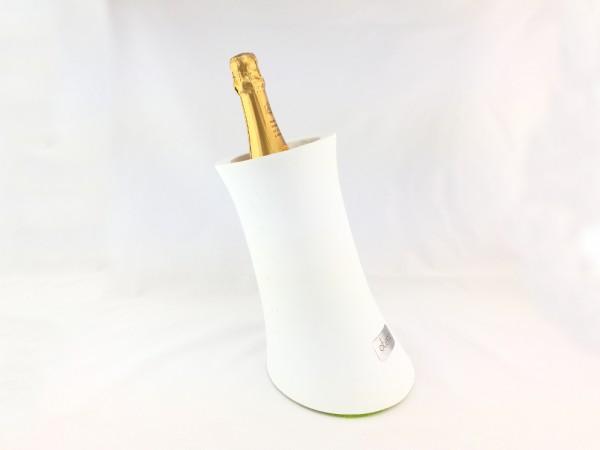 Champagner- / Weinkühler aus Beton in weiss